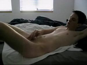Skinny Straight Cam Boy Shoots Big Cum Loads
