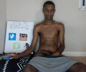 My Black Gay Boy Gets Nude On Webcam
