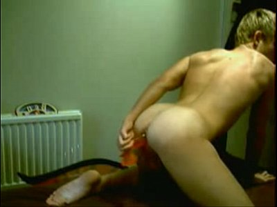 Perfect Gay Boy Fucks His Own Ass With Dildo On Cam
