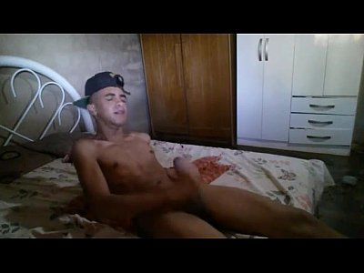 Marvelous Cam Gay Boy Wanks His Big Cock And Cums Fast