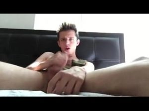 Very Hot Gay Boy Jerks Off And Swallows The Cum On Free Webcam
