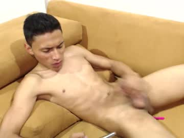 Flirtatious Latino College Boy Sebastian Masturbates On The Sofa