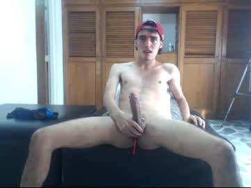 Young Webcam Boy Aaron Has A Big Fat Cock