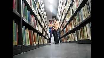 Two Webcam Boys Masturbate In The Public Library